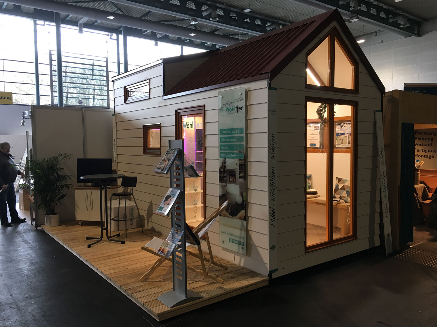Tiny-House by Woehltjen Messe