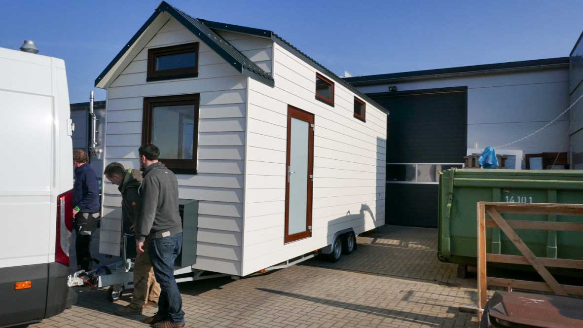 Tiny-House by Woehltjen auf Trailer
