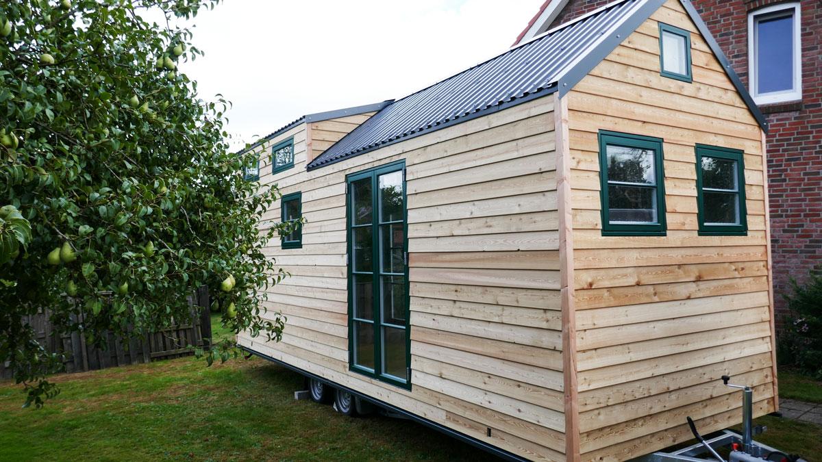 Tiny House by Woehltjen im Garten