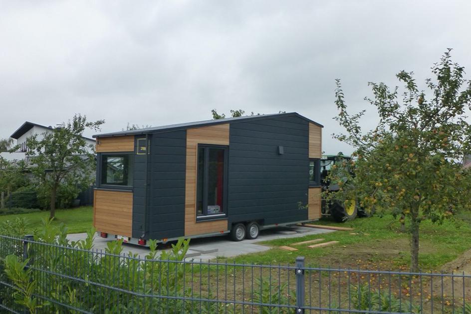 Tiny House kaufen bei Tiny House by Wöhltjen Modell Ausbauhaus